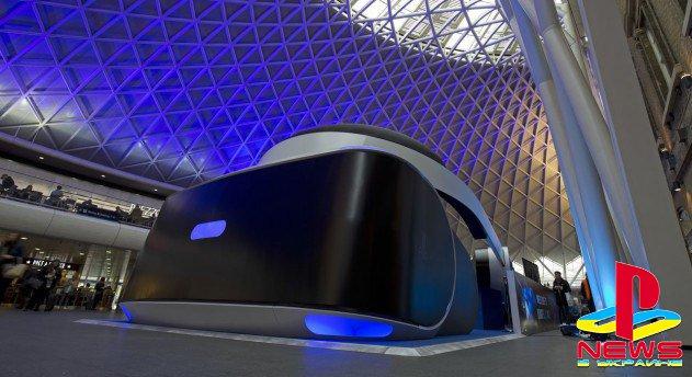 Sony выпустила гигантскую версию PlayStation VR