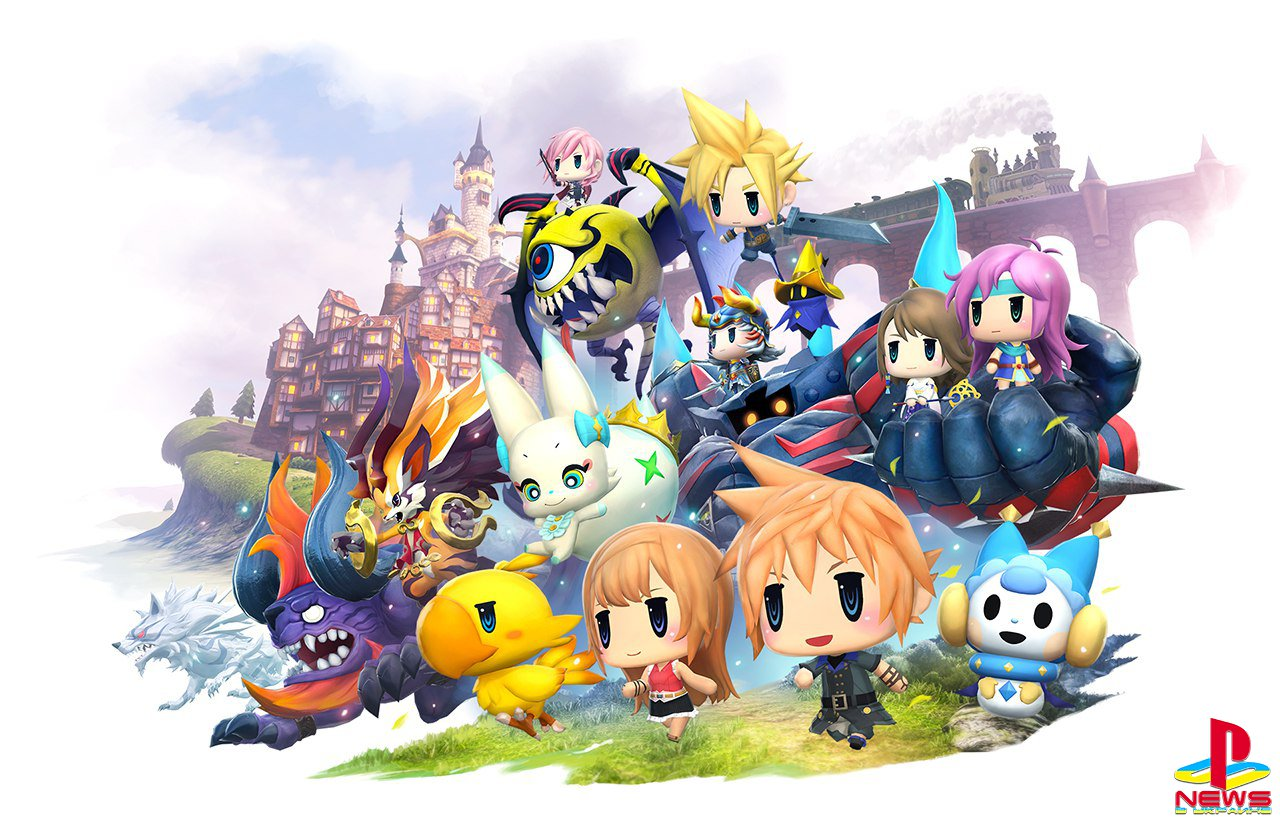 Square Enix �������� ���� ������ ���������� World of Final Fantasy
