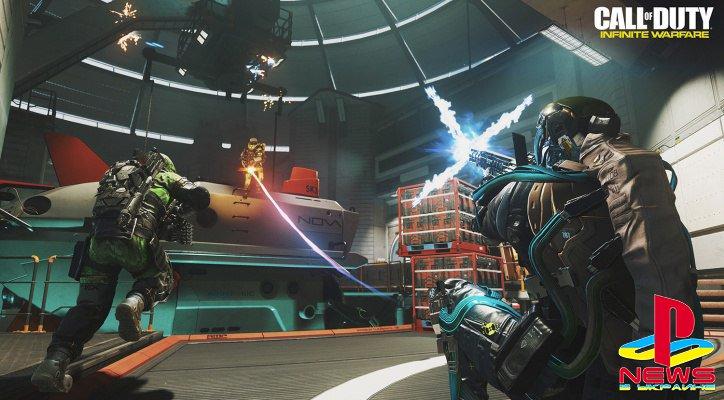 Бета-тест Call of Duty: Infinite Warfare продлили на сутки