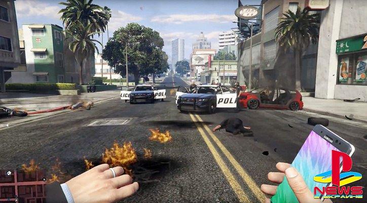 Samsung обиделась на взрывающиеся телефоны в GTA 5