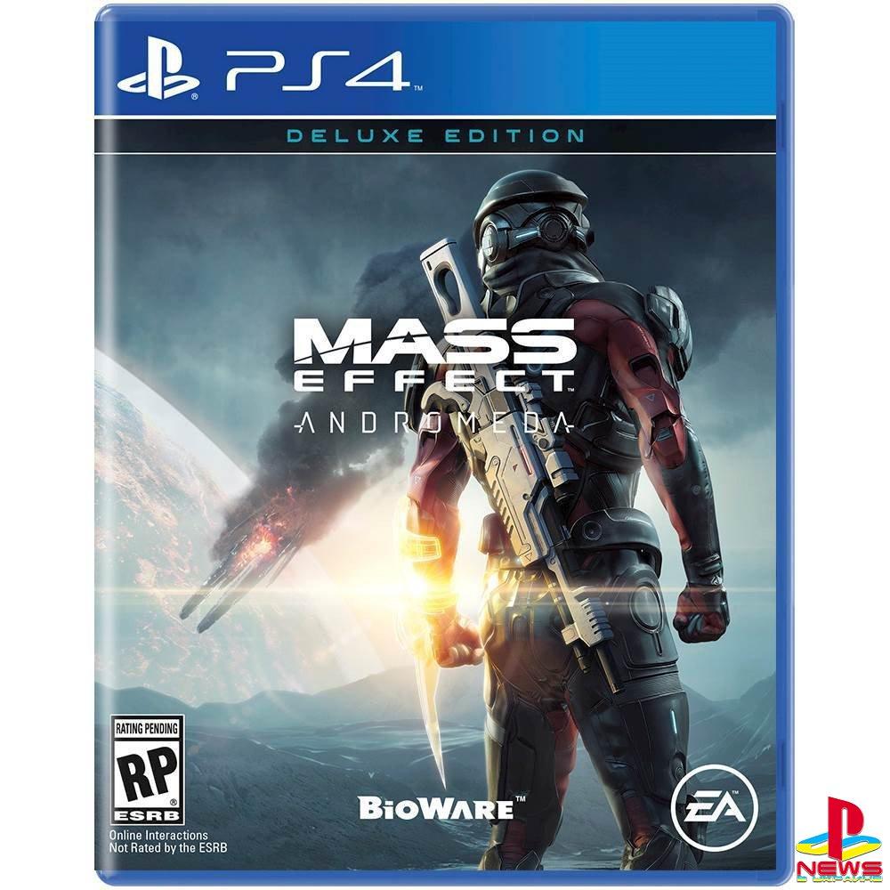 В Сети появилось описание и обложки Mass Effect: Andromeda