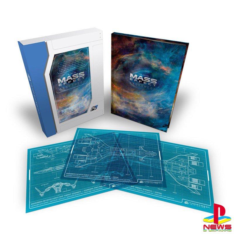 Цена и состав комплекта The Art of Mass Effect Andromeda