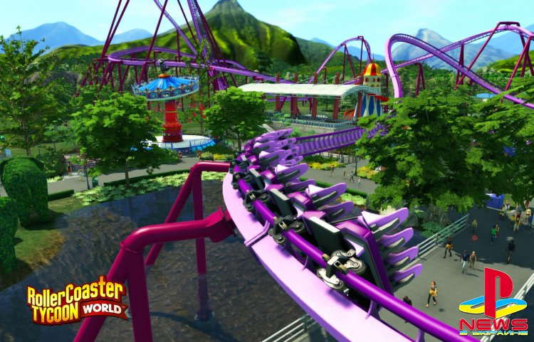 Релиз RollerCoaster Tycoon World состоится 16 ноября