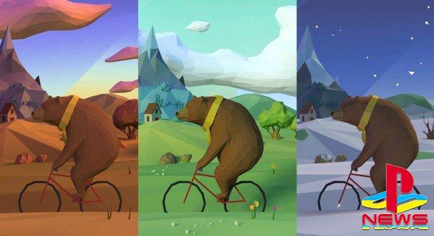 Медведь стал новым талисманом PlayStation