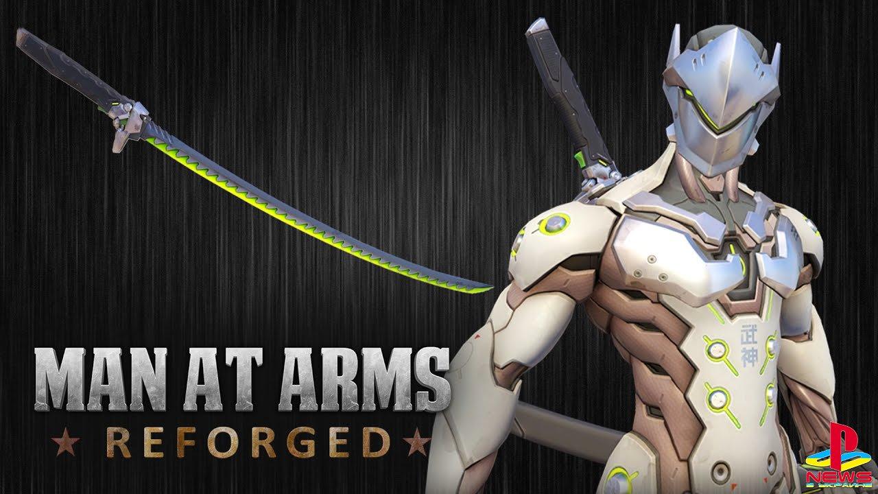 Американские кузнецы выковали меч Гэндзи из Overwatch